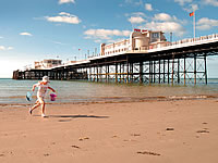 Worthing Beach and pier