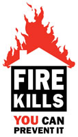 Fire kills campaign logo