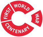 First World War Centenary - WW1 (150x131px - red)