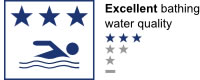 Bathing water quality - Excellent (3 star)