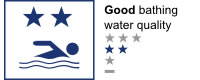 Bathing water quality - Good (2 star)