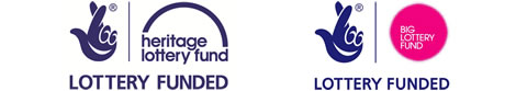 Lottery Funded - Heritage Lottery Fund and Big Lottery Fund (small banner logo)