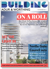 Building Adur & Worthing magazine cover - November 2017