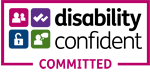 Disability Confident - committed (150px clr)