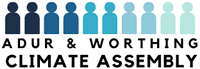 Adur & Worthing Climate Assembly logo