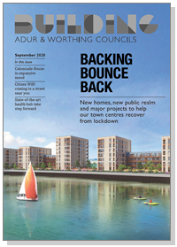 Building Adur & Worthing magazine cover - September 2020