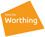 Time For Worthing logo - orange (150)
