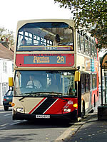 Bus at bus stop (Brighton & Hove Bus Company)